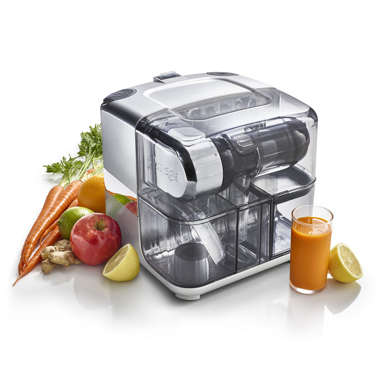CUBE300S Juice Cube and Nutrition System-Low Speed Juice Cube-Omega Juicers