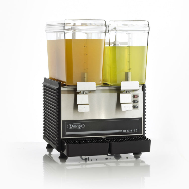 OSD20 Double 3-Gallon Bowl Drink Dispenser-Drink Dispensers-Omega Juicers
