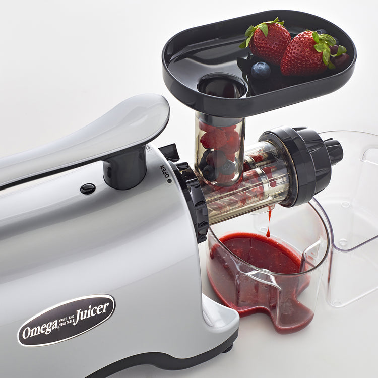 TWN30S Twin Gear Juicer-Low Speed Horizontal-Omega Juicers