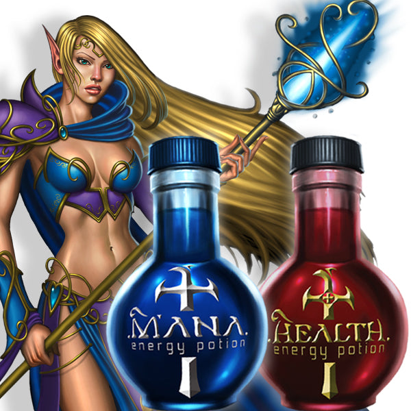 MANA & HEALTH POTIONS