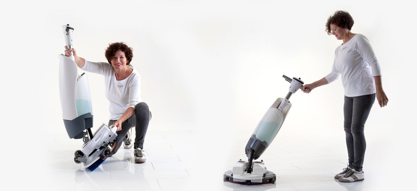 i-mop xl floor scrubber by Cobol in Montreal Quebec
