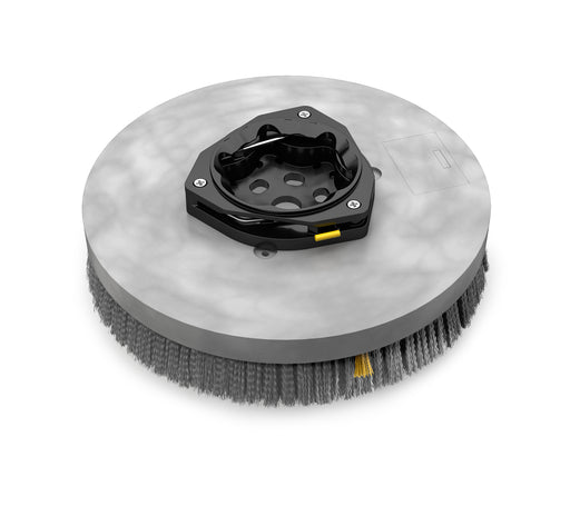 Nylon Disk Scrub Brush Assembly - 14 in