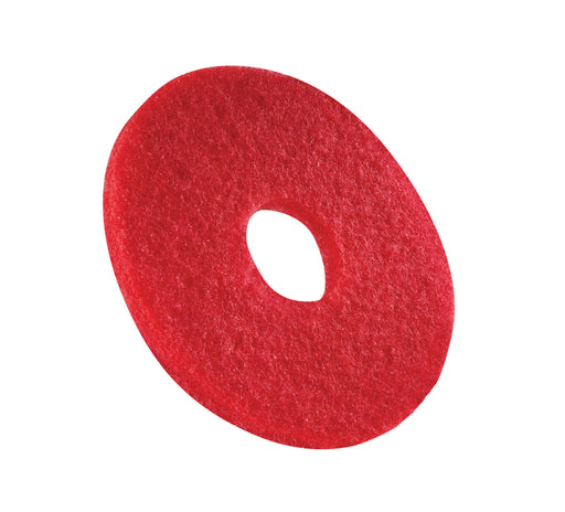 Red Buffing Pad - 16 in - Americo (Case of 5)