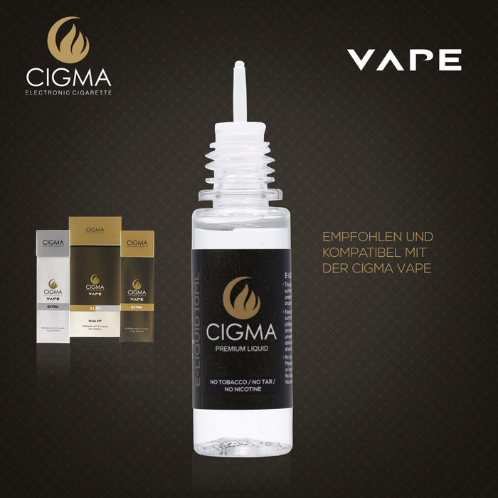 Cigma 10ML | Beeren Mix | 0mg