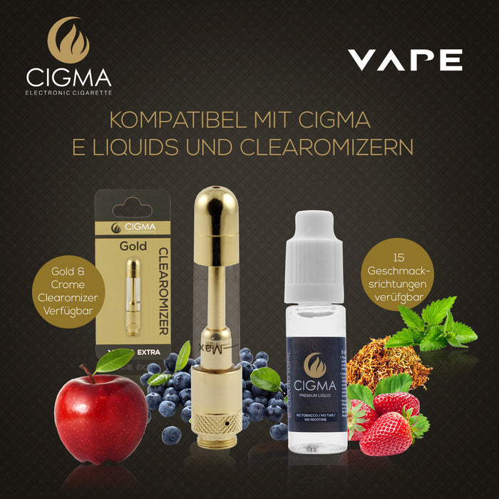 Cigma 10ML | Blaubeere | 0mg - Cigee.de E-liquid