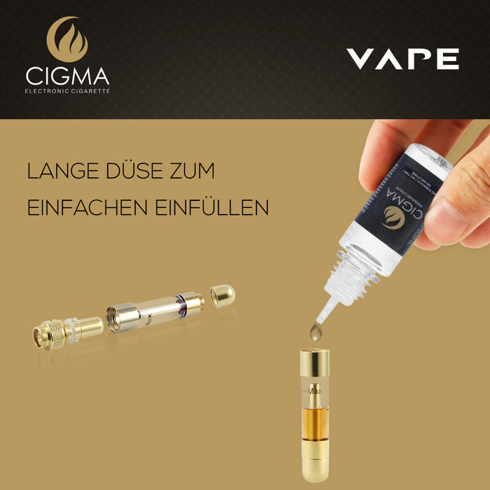 Cigma Vape Slim mit 10ml Liquid |Cigee