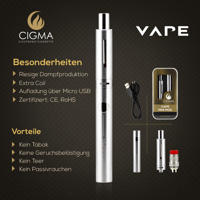 Cigma Mini Mod Vaping Kit