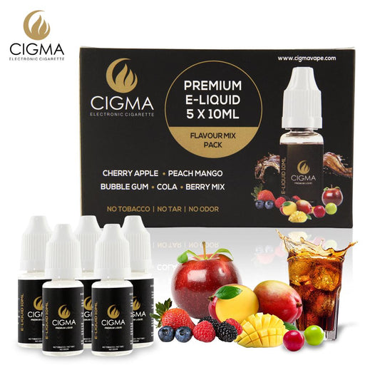 Cigma 5er Pack Flavour Mix 0mg | Cigee