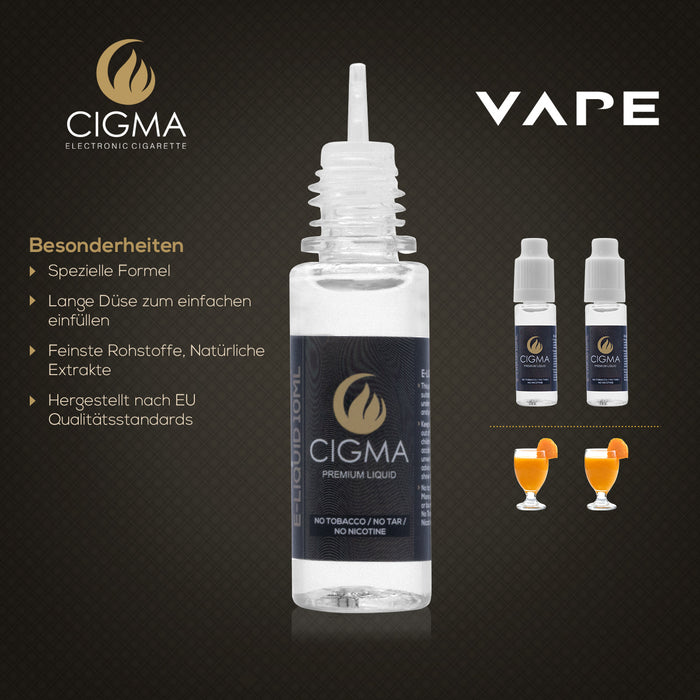 CIGMA Mango Smoothie 2er Pack E Liquid | Cigee