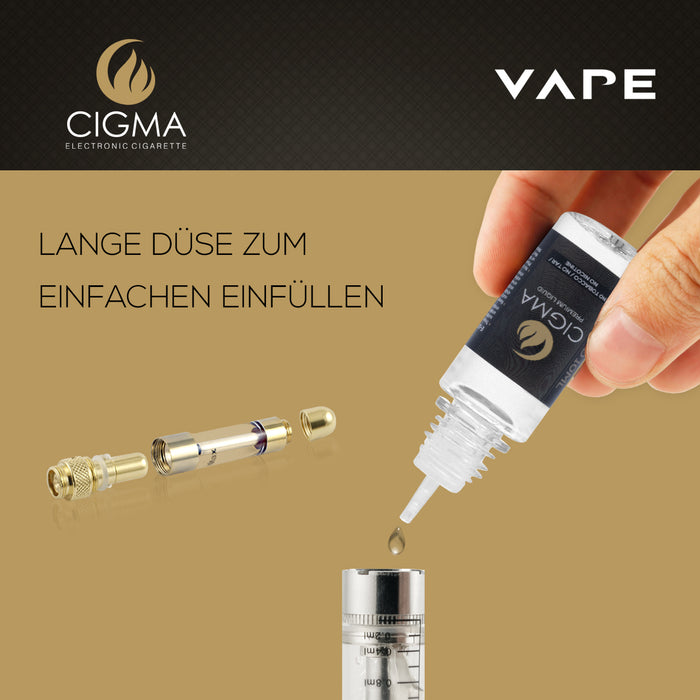 CIGMA 2er Pack E Liquid | Mango Smoothie - Cigee.de E-liquid