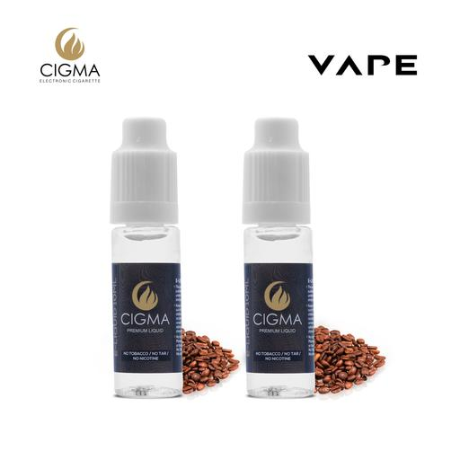 CIGMA | Kaffee 2er Pack E Liquid | Cigee