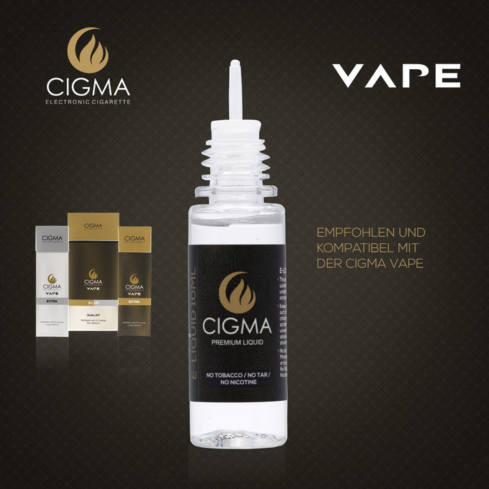 CIGMA Lemon Soda 2er Pack E Liquid | Cigee