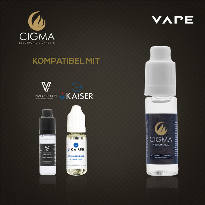 CIGMA| Butterscotch 2er Pack E Liquid | Cigee