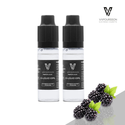 VAPOURSSON 2 Pack E Liquid | Brombeere