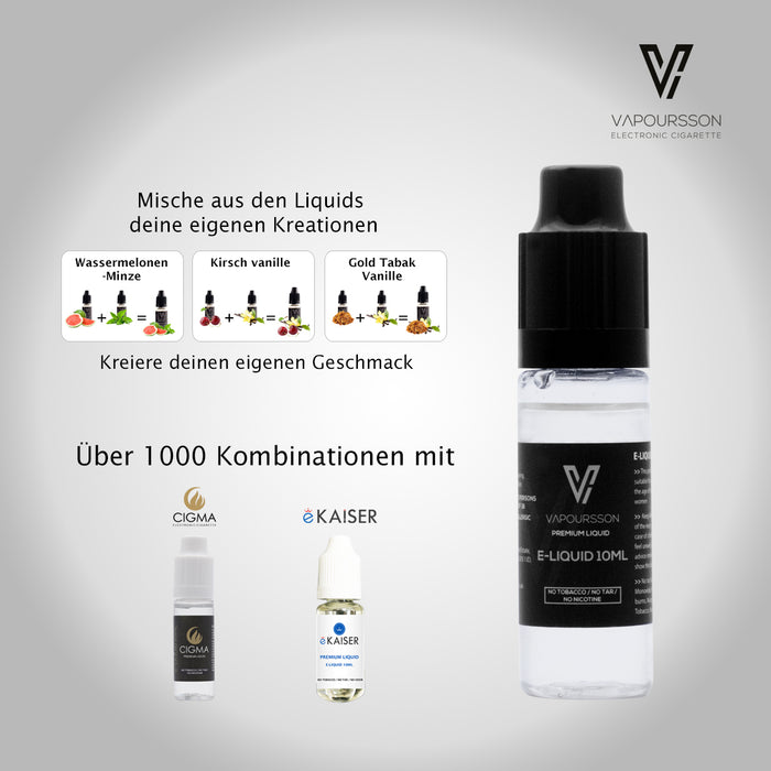 VAPOURSSON 2 Pack E Liquid | Kokosnuss