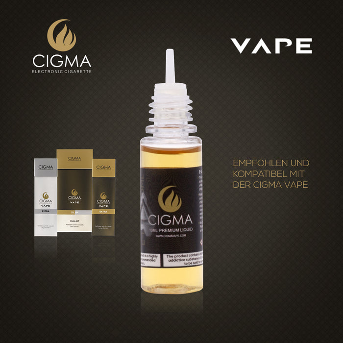 CIGMA | Kaffee 10ml E Liquid 3mg/ml(70VG)| Cigee