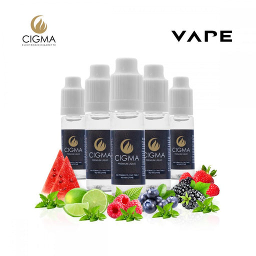 5er Pack Icy Fruit Blast 0mg | Cigee