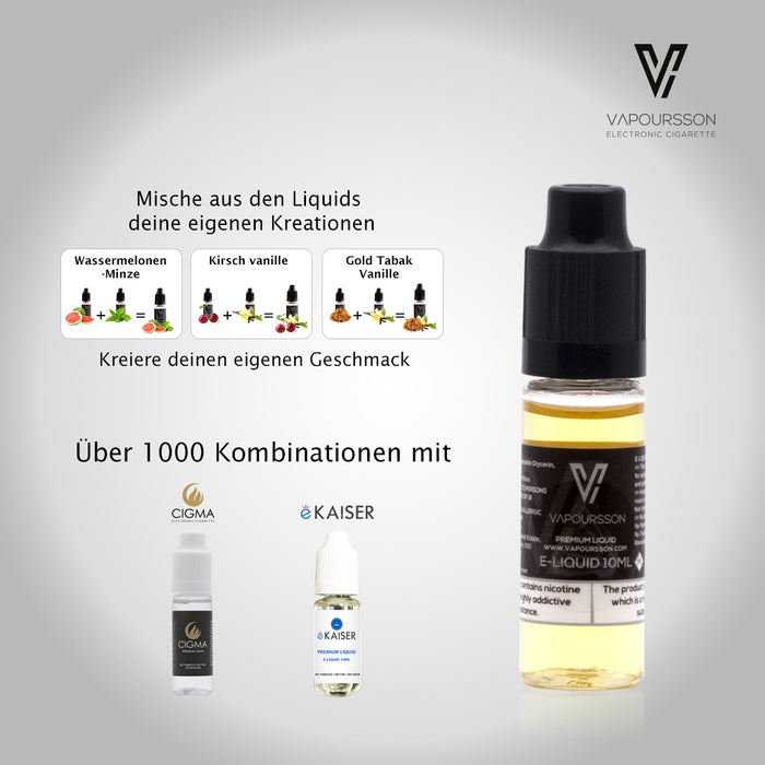 Vapoursson USA Mix 6mg / ml (80PG / 20VG) 10ml Flasche