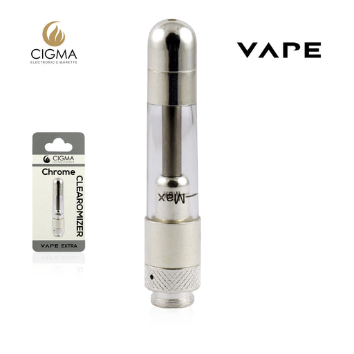 Cigma Vape Clearomizer Extra Chrom - Cigee.de Accessories