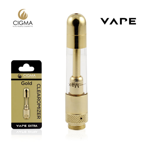 Cigma Vape Clearomizer Extra Gold - Cigee.de Accessories