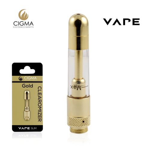 Cigma Vape Clearomizer Slim Gold - Cigee.de Accessories