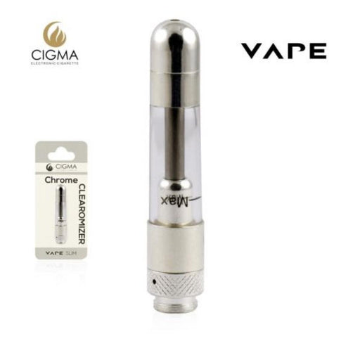 Cigma Vape Clearomizer Slim Chrome
