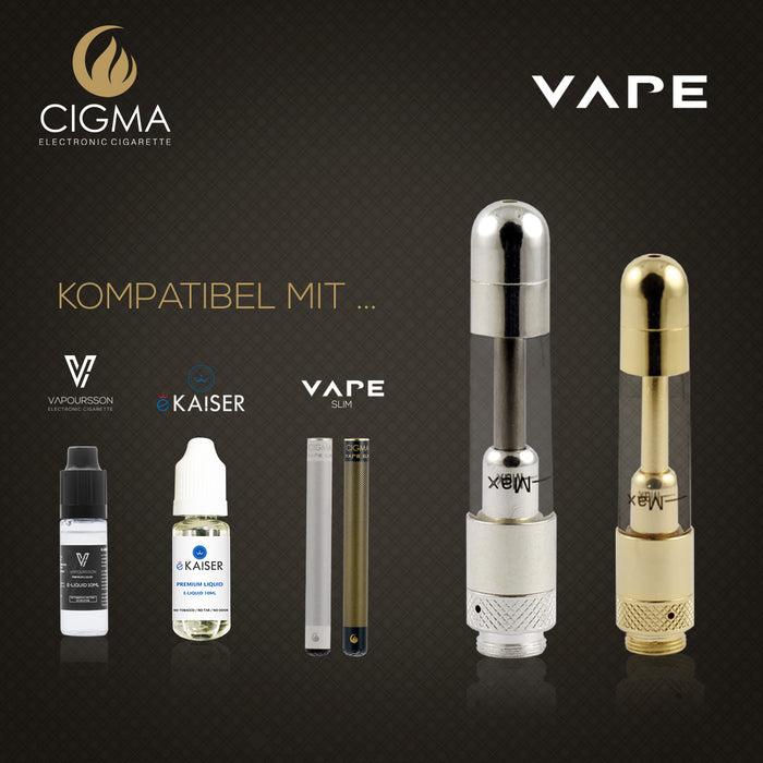 Cigma Vape Clearomizer Slim Chrom