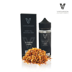 Vapoursson 100ml Gold Tabak 0mg E-Liquid