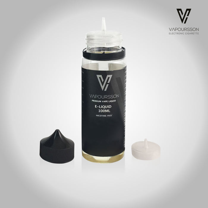 Vapoursson 100ml Vanille 0mg E-Liquid | Cigee