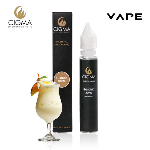 CIGMA| Pinacolada 30ml E Liquid 0mg | Cigee