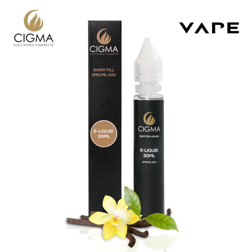 CIGMA| Vanille 30ml E Liquid 0mg | Cigee