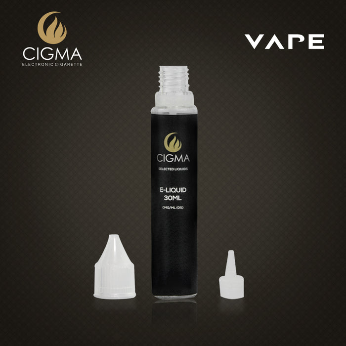 CIGMA Vanille 30ml E Liquid 0mg | Neue Shortfill Flaschen | - Cigee.de E-liquid
