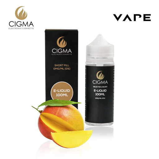 CIGMA Mango 100ml E Liquid 0mg | Cigee
