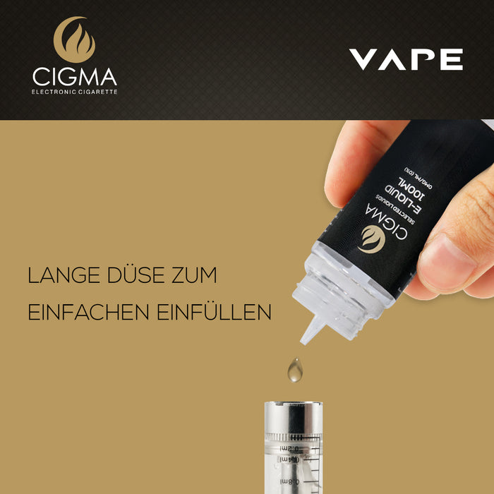 CIGMA Kaugummi 100ml E Liquid 0mg | Cigee