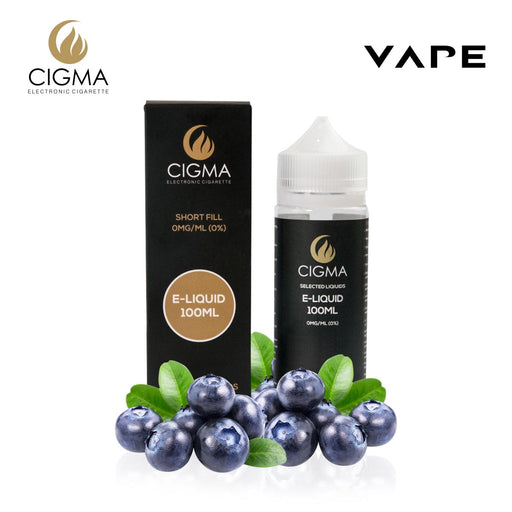 CIGMA Blaubeere 100ml E Liquid 0mg | Cigee