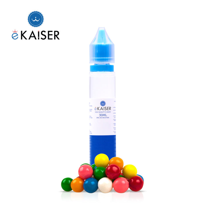 eKaiser Kaugummi 30ml E Liquid 0mg | Shortfill Flasche | - Cigee.de E-liquid