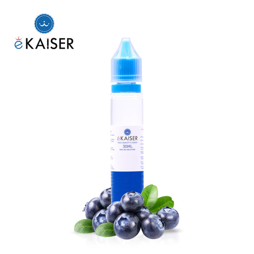 eKaiser Blaubeere 30ml E Liquid 0mg | Shortfill Flasche |