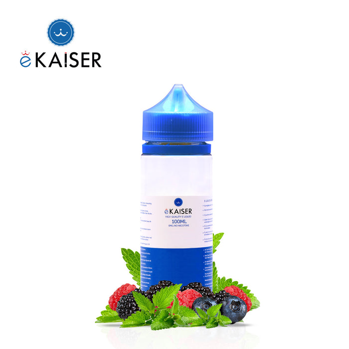 eKaiser Beere Minze 100ml E Liquid 0mg | Shortfill Flasche