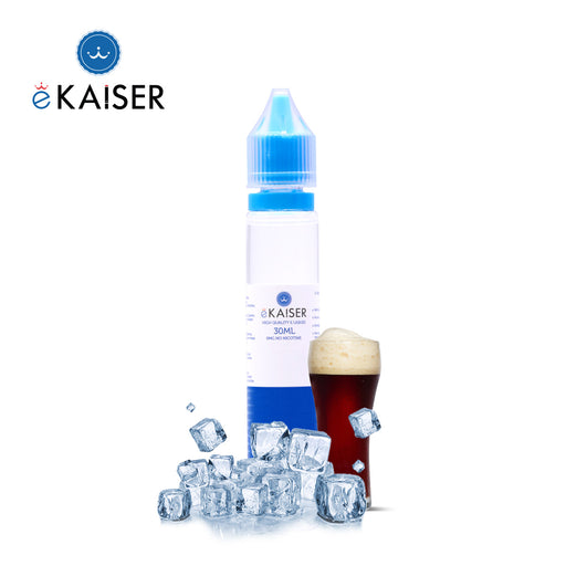 eKaiser Eis Cola 30ml E Liquid 0mg | Shortfill Flasche |