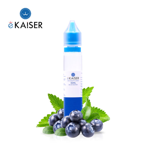 eKaiser Blaubeere Minze 30ml E Liquid 0mg | Shortfill Flasche |