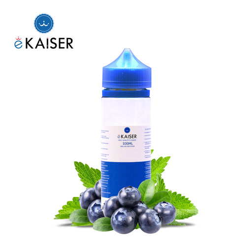 eKaiser Blaubeere Minze 100ml E Liquid 0mg | Shortfill Flasche