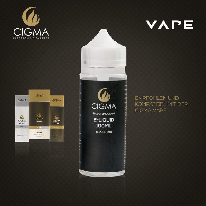 CIGMA | Kokosnuss 100ml E Liquid 0mg | Cigee
