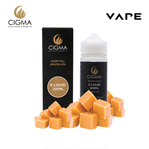 Cigma 100ml Butterscotch | Cigee