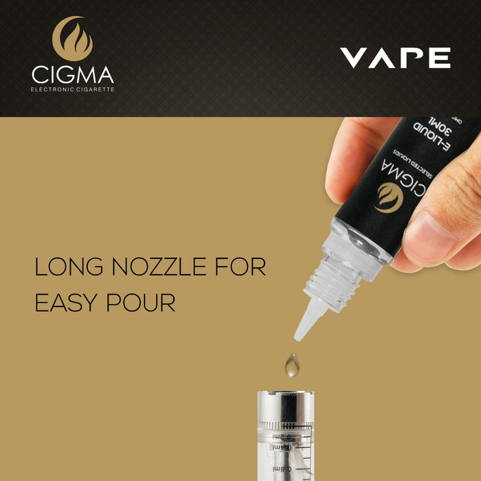 Cigma | 30ml Butterscotch E Liquid 0mg | Cigee