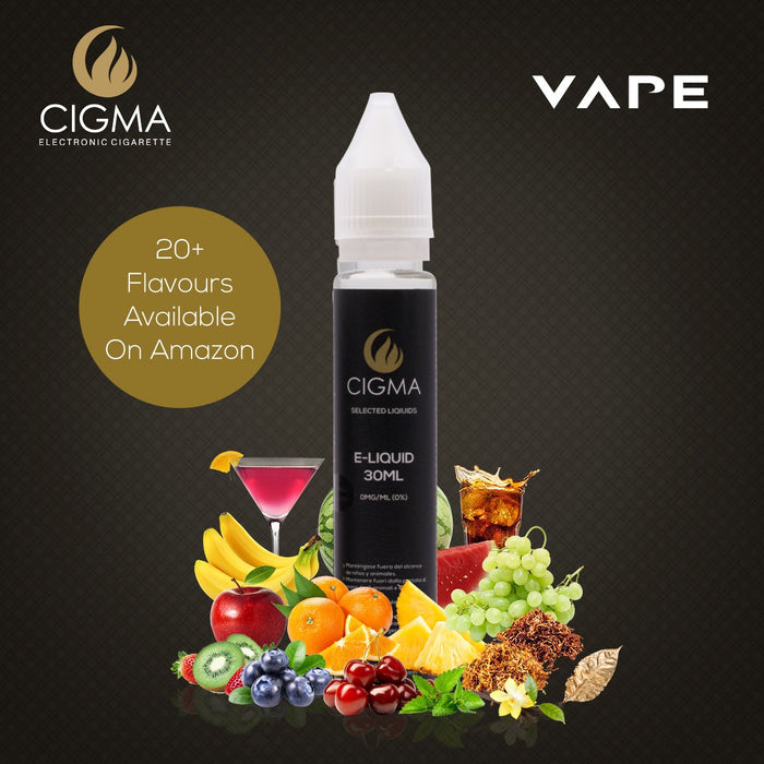 Cigma | Lemon Soda 30ml E Liquid 0mg | Cigee