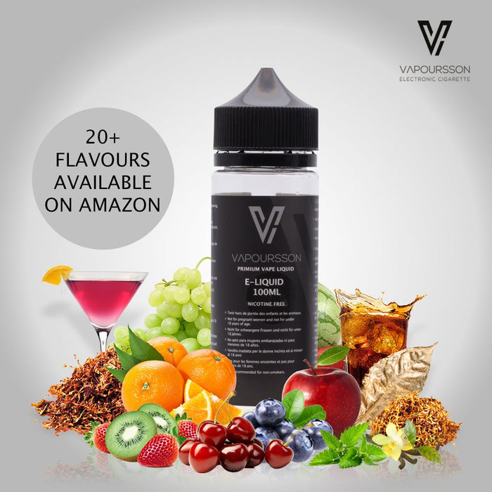Vapoursson 100ml Candyfloss