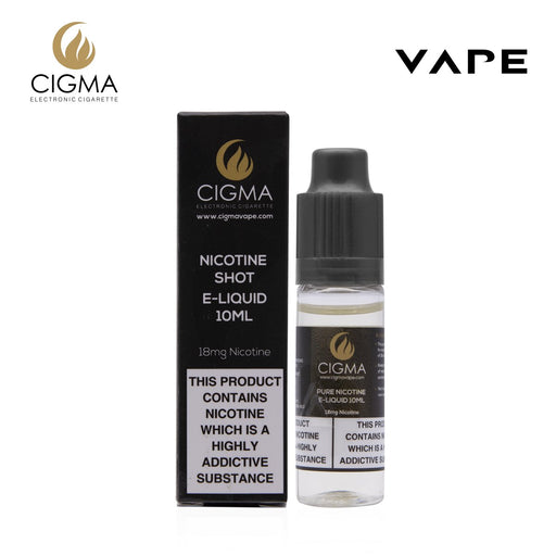 Cigma Nicotine shot 10ml - 18mg