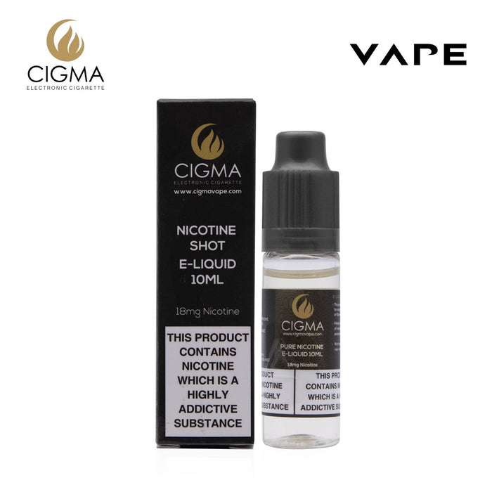 Cigma Nikotin Shot 10ml - 18mg - Cigee.de