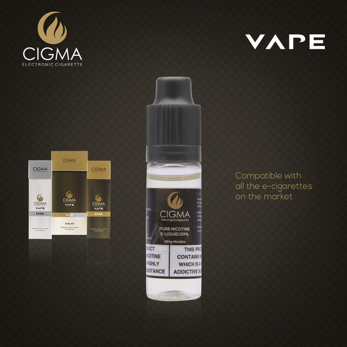 Cigma | Nikotin Shot 10ml-18mg | Cigee