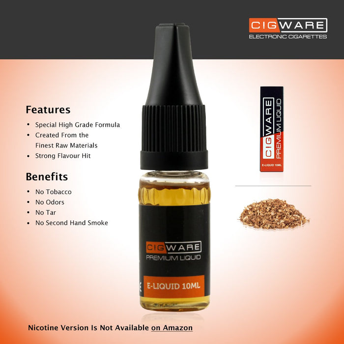 Cigware E liquid 10ml Flasche | Tobacco Blend Flavour